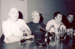 Pictured at the first AICSC meeting in Monaghan in April 1998