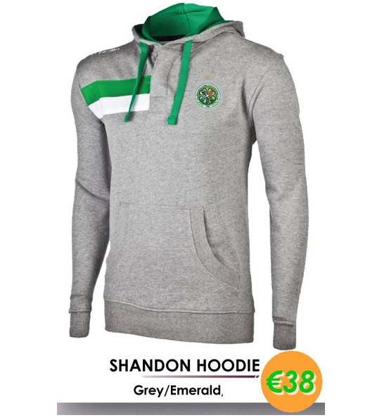 SHANDON HOODIE | AICSC Assocation of Irish Celtic Supporters Clubs