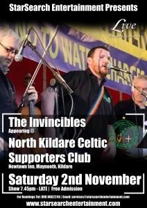 celtic 22nd nov invincibles
